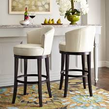 Cool Counter Stools Isaac Ivory Swivel Bar Stool Spin Retro And Rounding