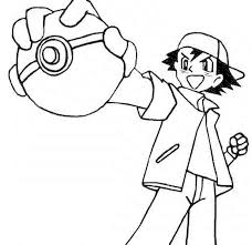 Pokemon Coloring Pages Free Printable Kids Colouring Pages