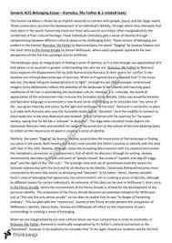 romulus my father essay belonging