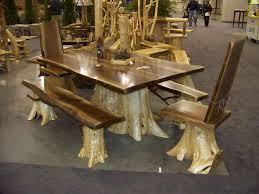 rustic furniture pics. Captivating Handmade Rustic Wood Furniture Log Table Cabin Cedar Pics