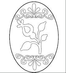 Easter Eggs Printable Egg Coloring Pages Eggs Printable Of To Images