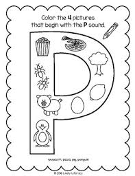 It's fun to learn the alphabet! Lively Literacy Letter Sound Of The Week Phonics Worksheets P Tpt