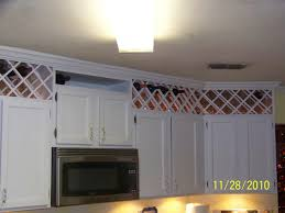 Above Kitchen Cabinet Ideas For Space Above Kitchen Cabinets Wicker Basket Storage And