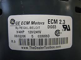 trane furnace blower motor. trane ge 5sme39sl0674 d341314p60 mot11630 ecm 2.3 3/4hp furnace blower motor | what\u0027s it worth
