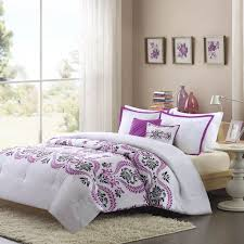 57 best k bedding images on white bedding with purple accents