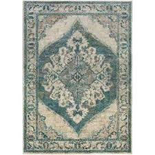 teal and brown area rug teal 5 ft x 7 ft indoor area rug chocolate brown