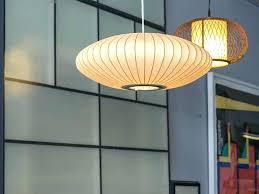 saucer pendant light nelson pendant lights mid century modern nelson bubble lamp for nelson saucer