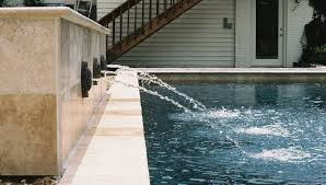 water feature wall natural stone