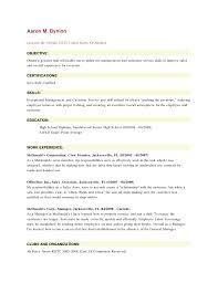 Fast Food Resume Excellent Fast Food Cashier Job Description For Resume Images 47