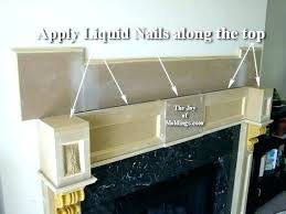 oak crown mold house of crown molding house of crown molding how to build a fireplace