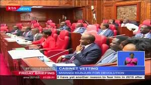 Kenyan Cabinet Secretaries Cabinet Secretary Nominees Vetted By National Assembly Committee