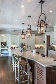 french country lighting fixtures. Copper Lanterns With Black Bails Over 15 Foot Island Traditional Regard To Awesome French Country Lighting Fixtures H