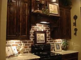 Kitchen Backsplash Ideas For Dark Cabinets Brick 3 Design Kitchen