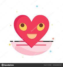 Heart Emojis Smiley Face Smile Business Logo Template