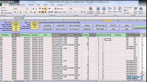 Production Scheduling In Excel Production Plan Template Excel Free Printable Schedule