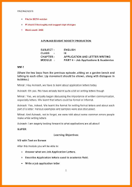 Letter Writing Format In English Image Collections Letter