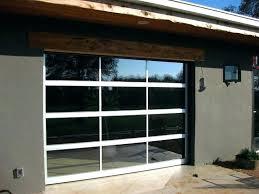 enchanting glass garage doors cost in overhead a door commercial s g