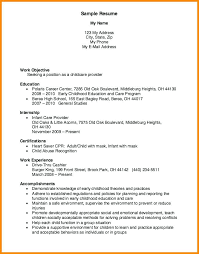 Here Are Resume For Childcare Child Care Resume Sample Child Care ...