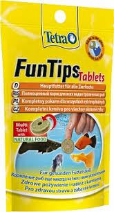 "<b>Корм</b> для рыб ""<b>Tetra</b> FunTips <b>Tablets</b>"" для приклеивания к стеклу ..."