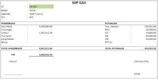 Karyawan yang tak punya npwp dikenai pajak penghasilan 120% dari tarif yang berlaku untuk pemilik npwp. Contoh Laporan Hrd Di Excel Untuk Hr Perusahaan