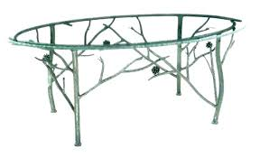 wrought iron dining table bases for granite tops base with wood top coffee glass kitchen