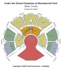 San Francisco Cirque Du Soleil Seating Chart Most Popular Seating Chart For Kooza Under The Grand