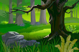 jungle background clipart. Brilliant Clipart Silhouette Animal In Forest Vector Africa Background Beautiful Free  Landscape To Jungle Clipart R