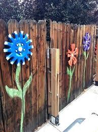 outdoor fence decor outdoor fence decoration ideas backyard fence decor ideas creative garden fence decoration ideas