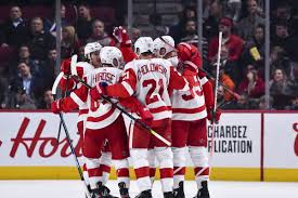 Montreal Canadiens Goal Light Habsent Malice Wings Beat Montreal 4 2 In Canadiens Home