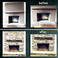 reface brick fireplace with tile amazing interior design ideas u2022 rh denuedo co refacing brick fireplace