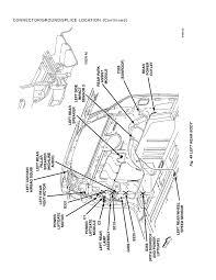 Connector ground splice location page 59 2005