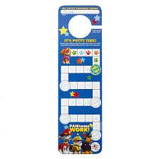 Potty Training Chart Printable Paw Patrol Nickelodeon Paw Patrol Potty Training Reward Kit Door Hang Version