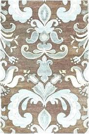 blue brown area rug mollyurbancom blue and brown area rug blue brown cream area rug