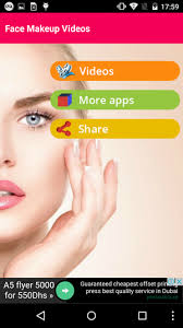 face makeup videos is a free android app that is part of the lifestyle apps with sub fashion beauty and has been created by spark