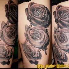 Tetování Květiny 3d Noha Tetování Tattoo
