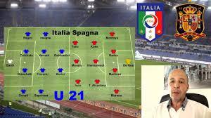 Italia Spagna Under 21 Finale Campionato Europeo : Diretta su RAI1 -  Formazioni & Quote - YouTube