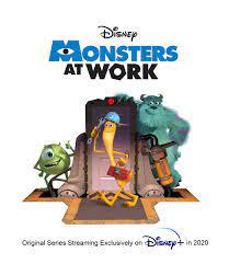 """Disney+ Serie """"Monsters At Work ..."""