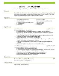 aircraft maintenance manager cover letter - Template
