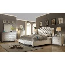 bedroom furniture sets. Aveliss Queen Panel 4 Piece Bedroom Set Furniture Sets B