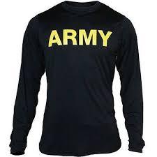 Apfu Army Pt Long Sleeve Shirt