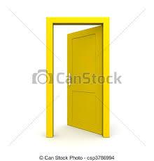 half open door drawing. Modren Open Charming Open Door Drawing With Of Single Yellow  Inside Half