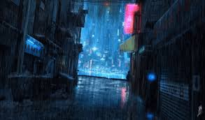 cinemagraph gif cinemagraph oc alley rainy