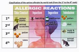 Allergic Reaction Chart Pollen Allergy In The World Evolution And Distribution