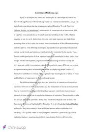 essays on sociology  compucenterco sociological essays karibian resume food for the soulsociology essay notes sclg introduction
