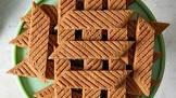 brown swedish cookies