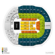 Cajundome Concert Seating Chart Cajundome 2019 Seating Chart