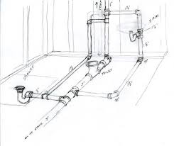 bathroom plumbing vent diagram ask the builder rh askthebuilder com drain pipe venting sewer line venting