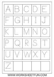 uppercase tracable alphabet | art projects for little humans ...