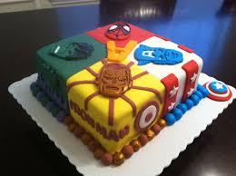 superhero sheet cake super heroes square cake ideas 115492 super heroes cake su