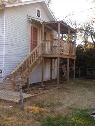 Balcony & Stairs